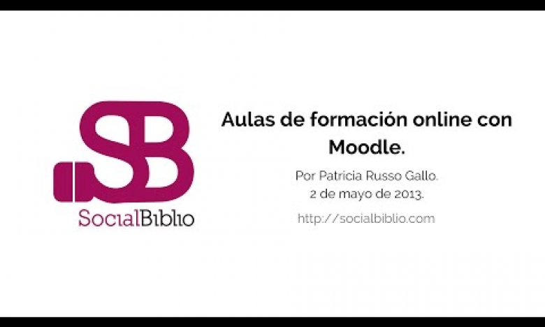 Embedded thumbnail for Aulas de formación online con Moodle