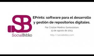 Embedded thumbnail for EPrints: software para el desarrollo y gestión de repositorios digitales