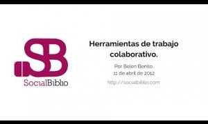 Embedded thumbnail for Herramientas de trabajo colaborativo