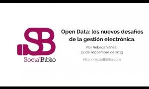 Embedded thumbnail for Opendata: Los nuevos desafíos de la gestión documental electrónica
