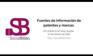 Embedded thumbnail for Fuentes de información de patentes y marcas