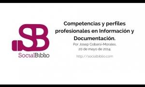 Embedded thumbnail for Competencias y perfiles profesionales en información y documentación