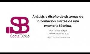 Embedded thumbnail for Análisis y diseño de sistemas de información. Partes de una memoria técnica