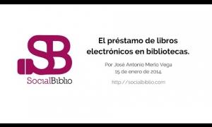 Embedded thumbnail for El préstamo de libros electrónicos en bibliotecas