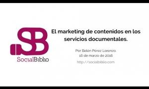 Embedded thumbnail for El marketing de contenidos en los servicios documentales