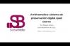Embedded thumbnail for Archivematica, sistema de preservación open source